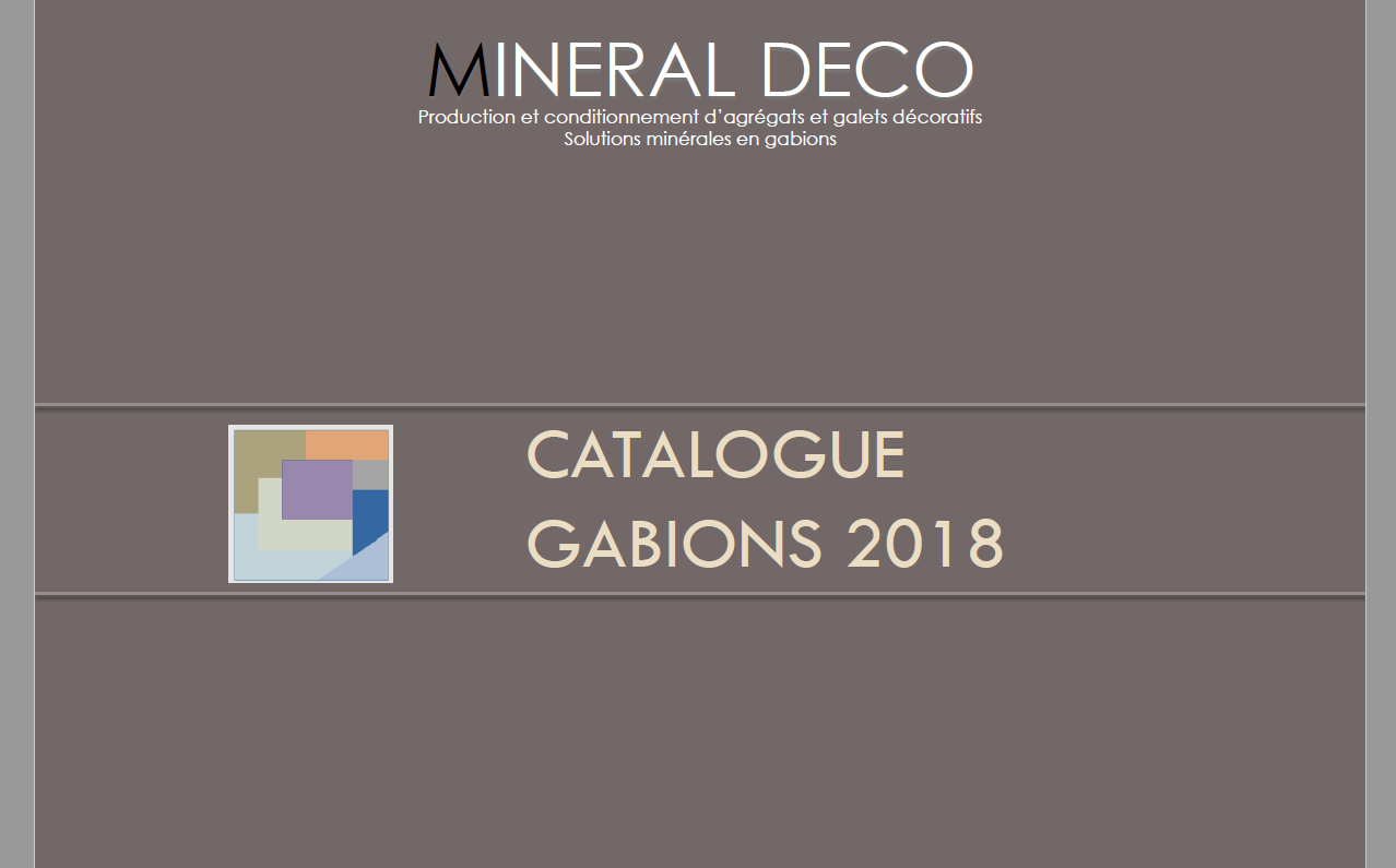 Photo site catalogue gabions